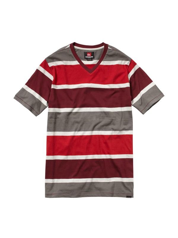 0 Truxton V-Neck T-Shirt  AQYKT00028 Quiksilver
