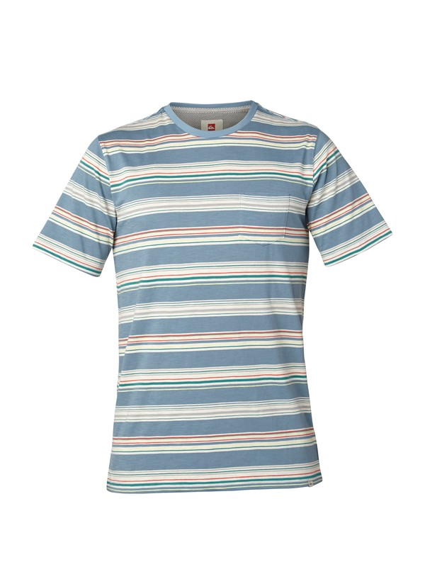 0 Full Up Crew Slim Fit T-Shirt  AQYKT03004 Quiksilver