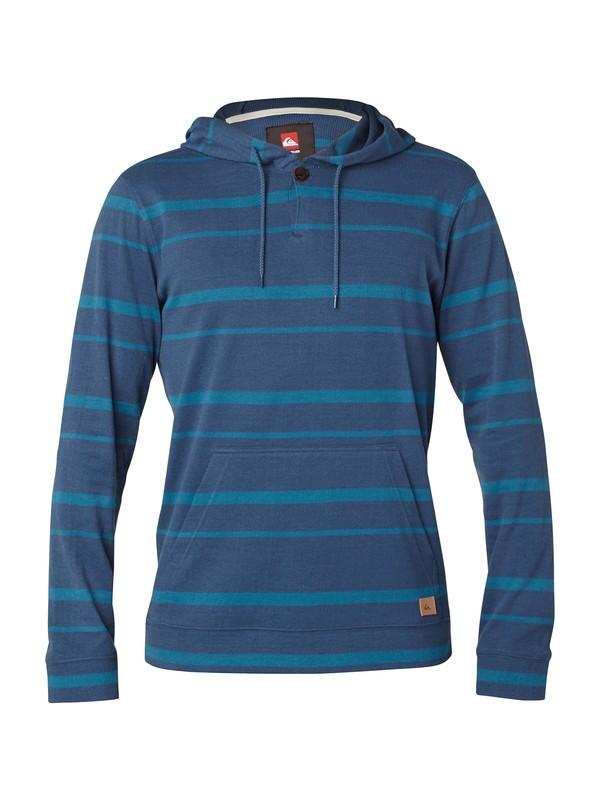 0 Snit Stripe Pullover Hoodie  AQYKT03014 Quiksilver