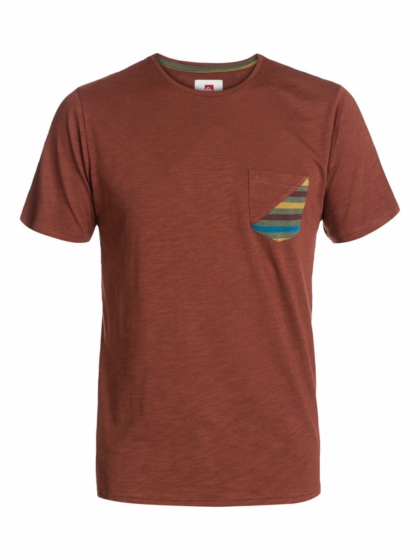 0 Slip Slide Pocket T-Shirt  AQYKT03029 Quiksilver