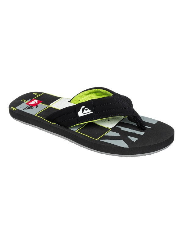 0 Quilted Checkers Sandals  AQYL100008 Quiksilver