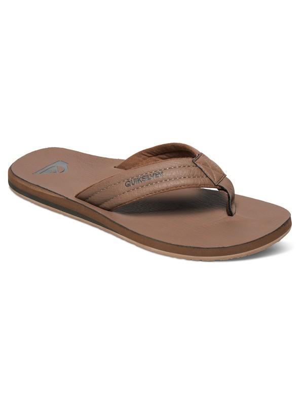 0 Carver Nubuck Sandals Beige AQYL100040 Quiksilver