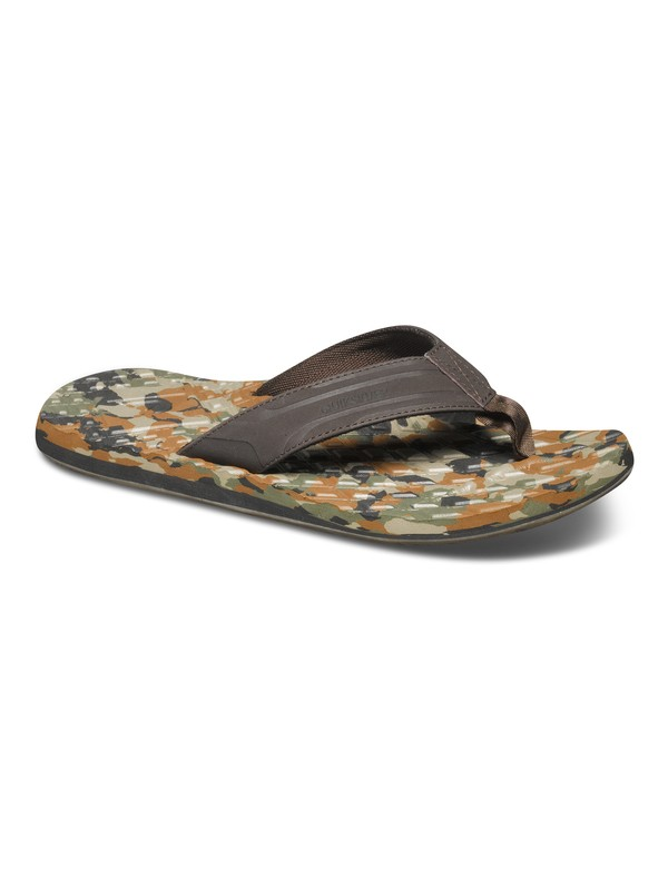 0 Monkey Texture Sandals  AQYL100043 Quiksilver