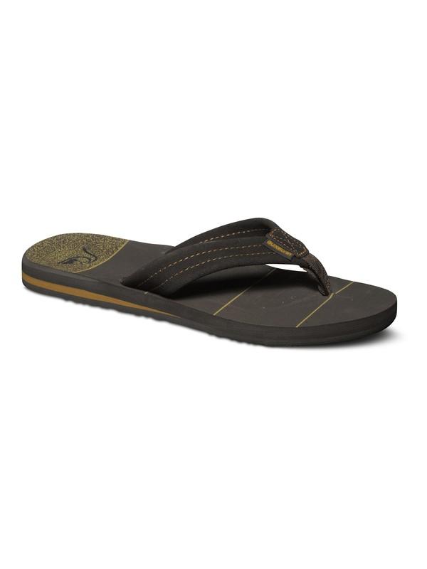 0 Carver Art Leather Sandals  AQYL100046 Quiksilver