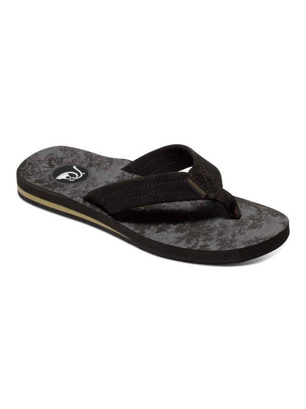 0 Carver Art - Leather Sandals  AQYL100046 Quiksilver