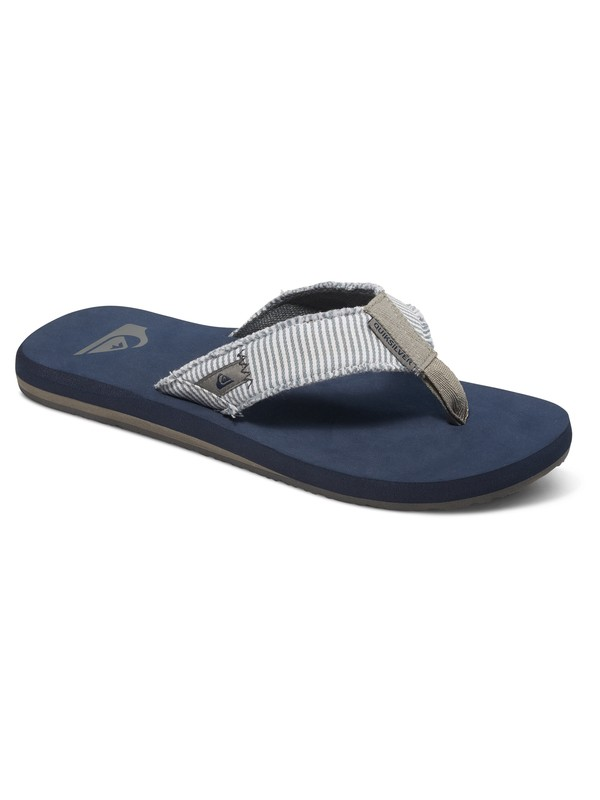 0 Monkey Abyss - Tongs Gris AQYL100047 Quiksilver