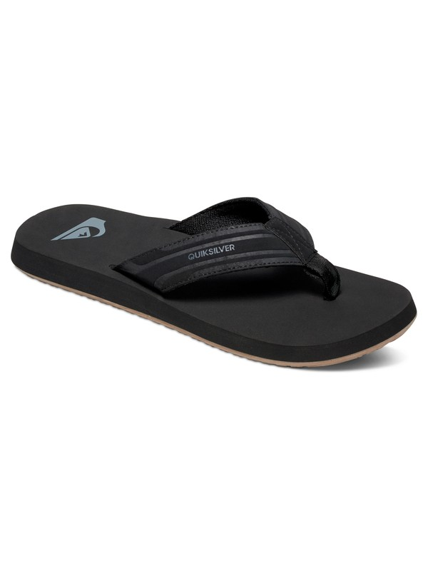 0 Monkey Wrench - Sandals Black AQYL100048 Quiksilver