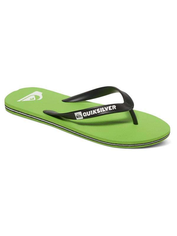 0 Molokai - Flip-Flops Green AQYL100064 Quiksilver