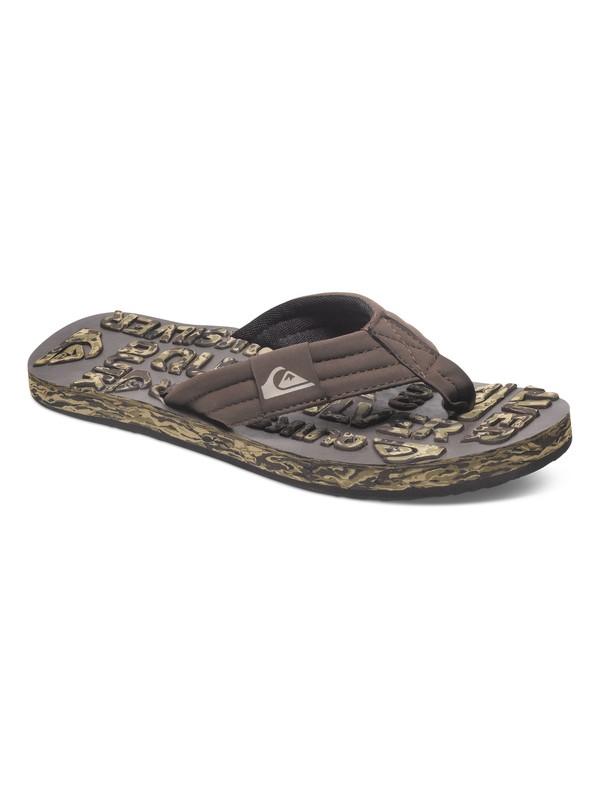 0 Basis Embossed Sandals  AQYL100077 Quiksilver