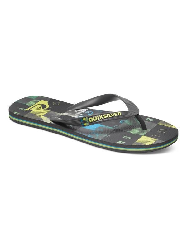 0 Molokai Check Wreck Sandals  AQYL100091 Quiksilver