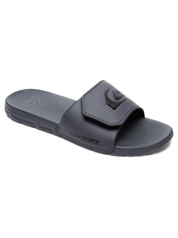 0 Shoreline Adjust Slider Sandals Grey AQYL100204 Quiksilver