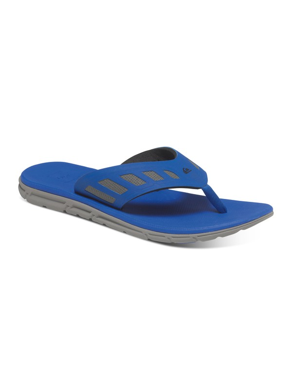 Quiksilver AG47 Flux - Sandals - Sandalen - Männer - EU 44 - Blau 467T2P