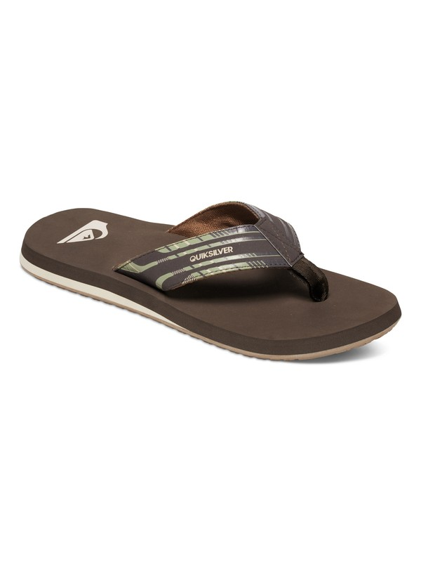 0 Monkey Wrench Print Sandals  AQYL100217 Quiksilver
