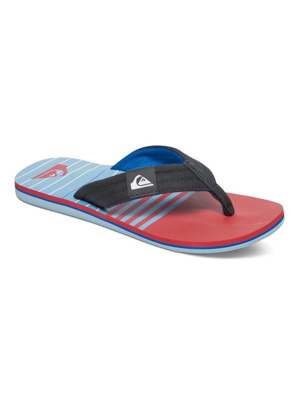0 Molokai Layback Sandals Blue AQYL100236 Quiksilver