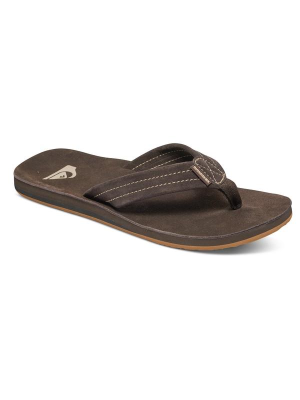 0 Carver Suede Deluxe Sandals  AQYL100244 Quiksilver