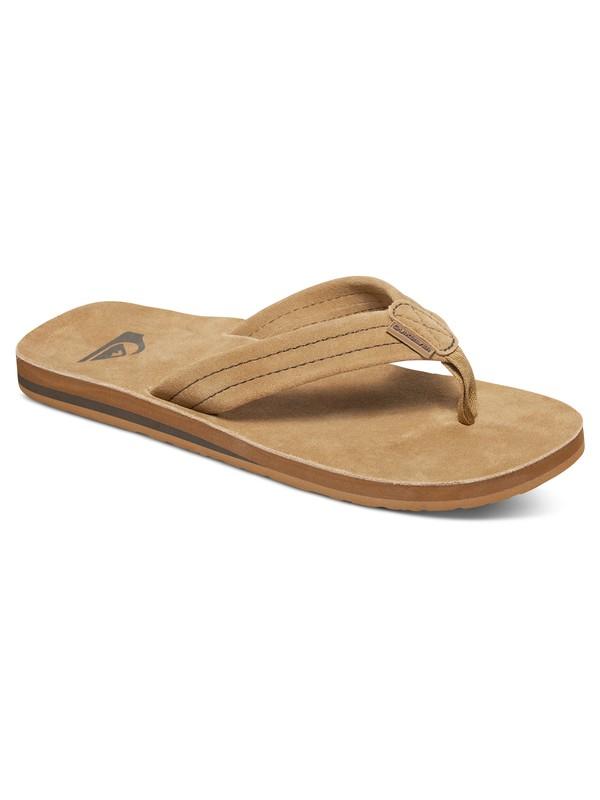0 Carver Deluxe Suede Sandals  AQYL100244 Quiksilver