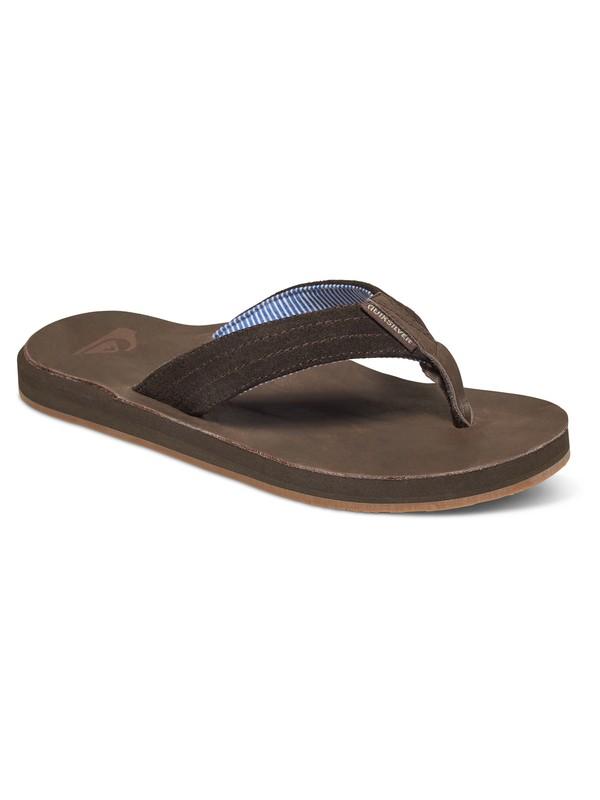 0 Carver - Suede Sandals  AQYL100375 Quiksilver