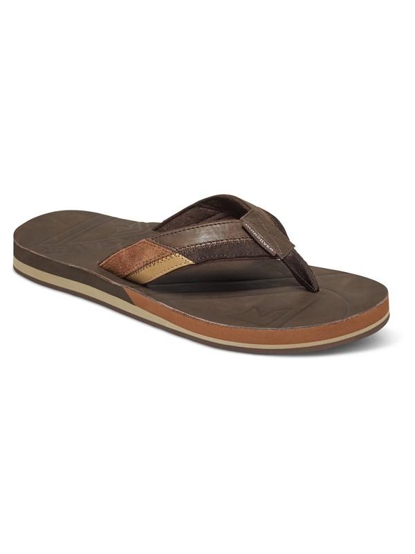 0 Hiatus Leather Sandals  AQYL100402 Quiksilver