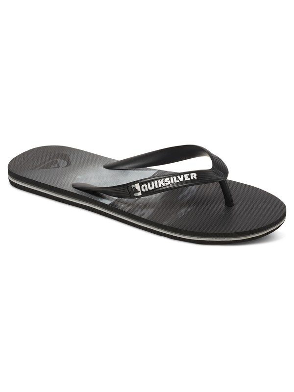 0 Molokai Hold Down - Flip-Flops for Men Black AQYL100409 Quiksilver