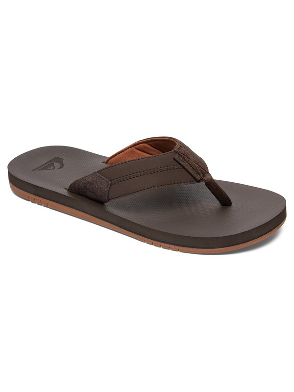 0 Coastal Oasis - Sandals Brown AQYL100442 Quiksilver