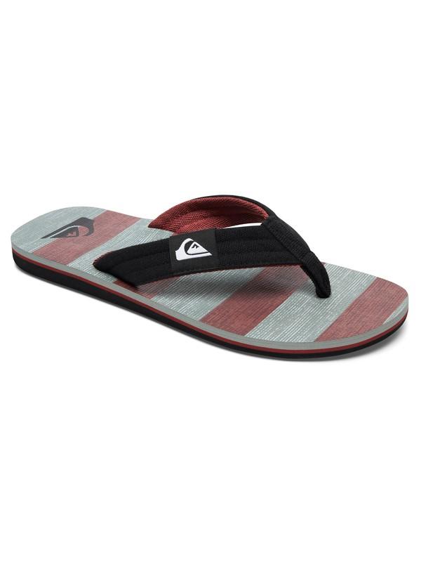 0 Molokai Layback Sandals Grey AQYL100483 Quiksilver