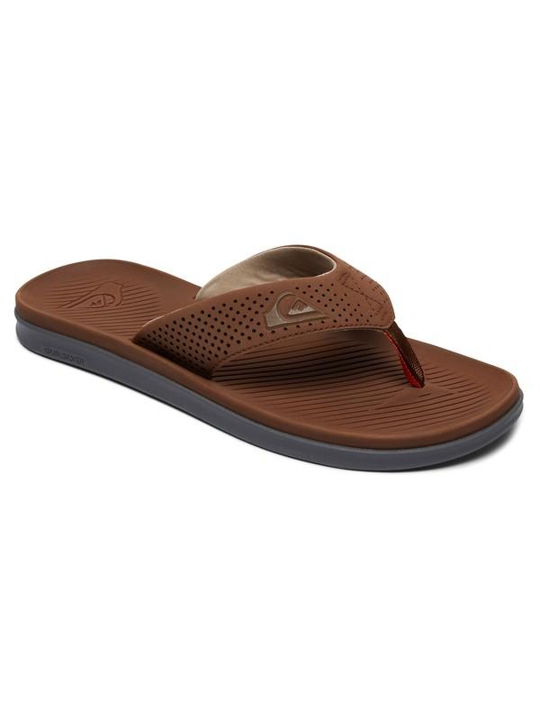 0 Haleiwa Plus - Sandals Brown AQYL100497 Quiksilver