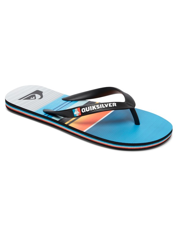 0 Molokai Stripe Flip-Flops  AQYL100516 Quiksilver