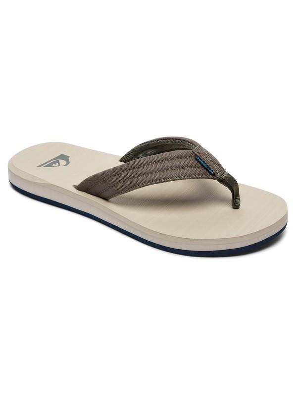 0 Carver Tropics Sandals Green AQYL100541 Quiksilver