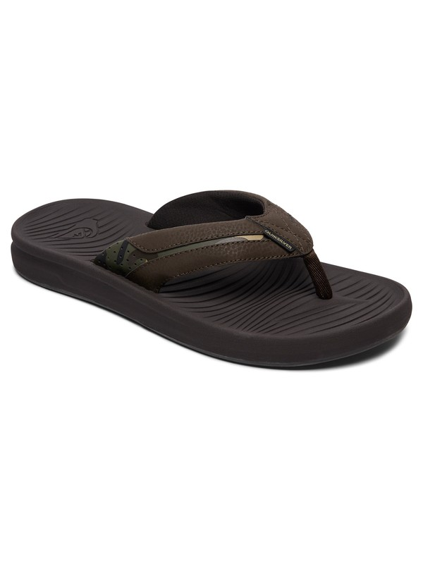 0 Travel Oasis Sandals Brown AQYL100543 Quiksilver
