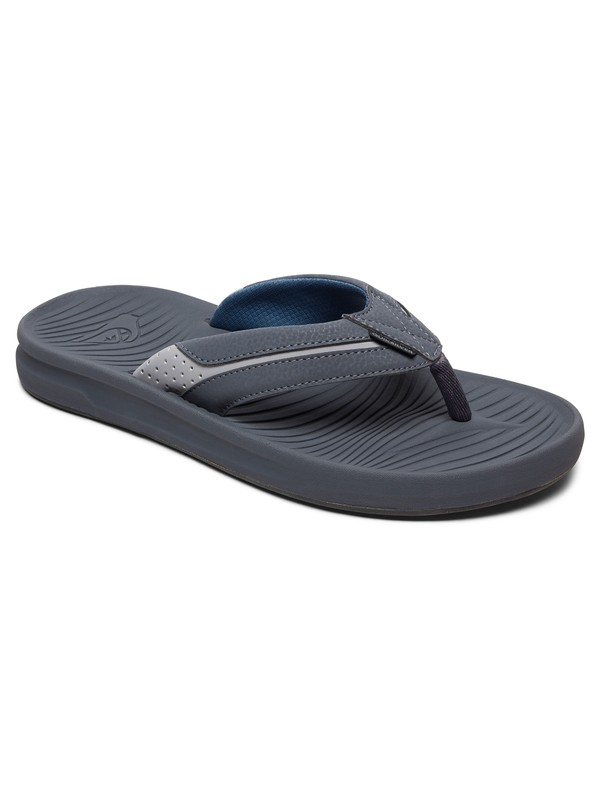 0 Travel Oasis Sandals Grey AQYL100543 Quiksilver