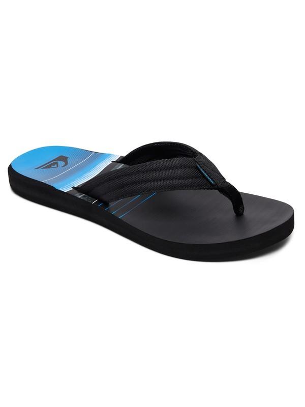 0 Carver - Sandals for Men Black AQYL100559 Quiksilver