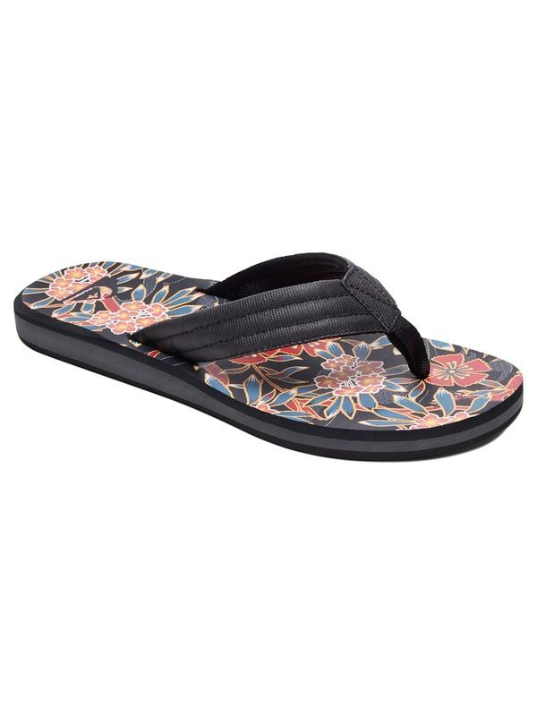 0 Carver Sandals Black AQYL100559 Quiksilver