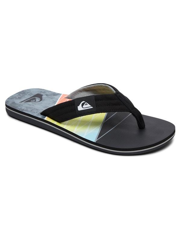 0 Molokai Layback Sandals Grey AQYL100560 Quiksilver