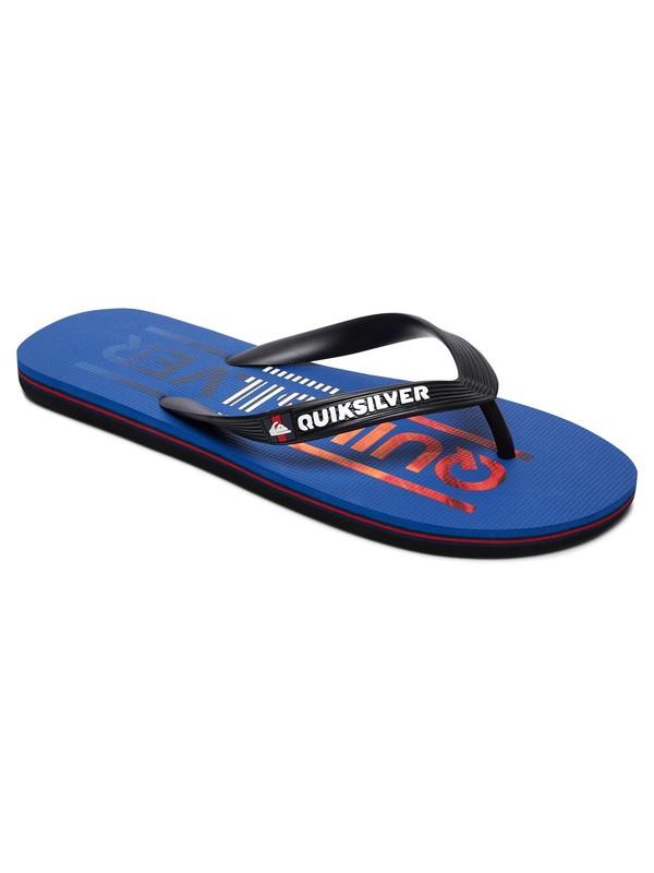 0 Molokai Wordmark - Flip-Flops for Men Black AQYL100561 Quiksilver