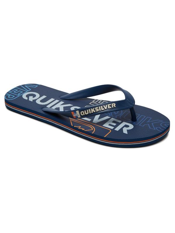 0 Molokai Nitro - Flip-Flops Blue AQYL100562 Quiksilver