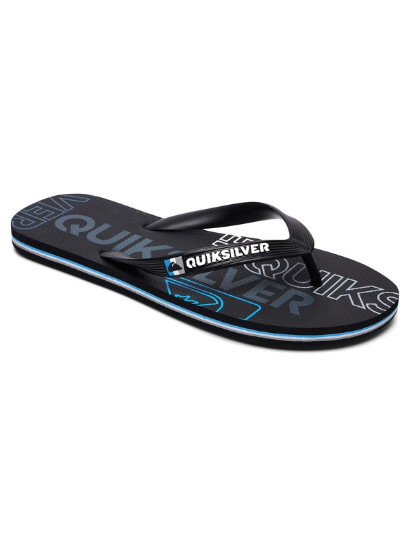 0 Molokai Nitro Flip-Flops Black AQYL100562 Quiksilver