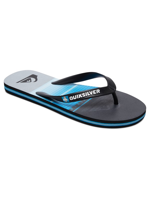 0 Molokai Highline Slab Sandals Black AQYL100568 Quiksilver