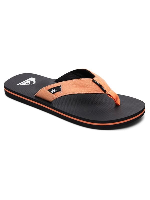 0 Molokai Abyss - Sandals Orange AQYL100570 Quiksilver