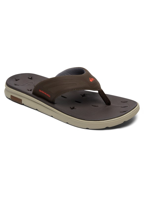 0 Amphibian Plus Sandals Brown AQYL100571 Quiksilver