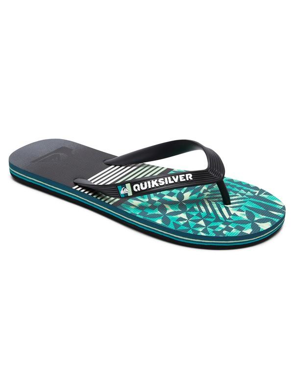 0 Molokai Highline Division - Flip-Flops Black AQYL100588 Quiksilver