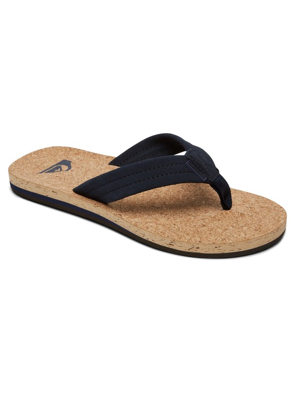 0 Carver Cork - Leather Sandals for Men  AQYL100597 Quiksilver