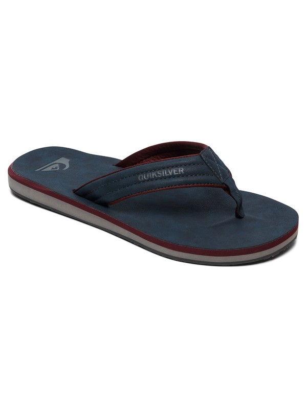 0 Carver Nubuck Sandals Blue AQYL100623 Quiksilver
