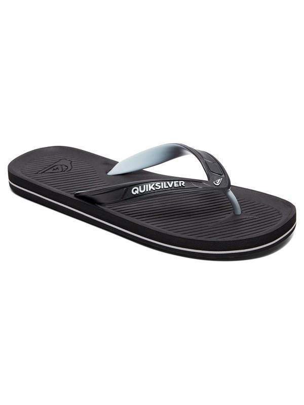 0 Haleiwa Flip-Flops Black AQYL100627 Quiksilver