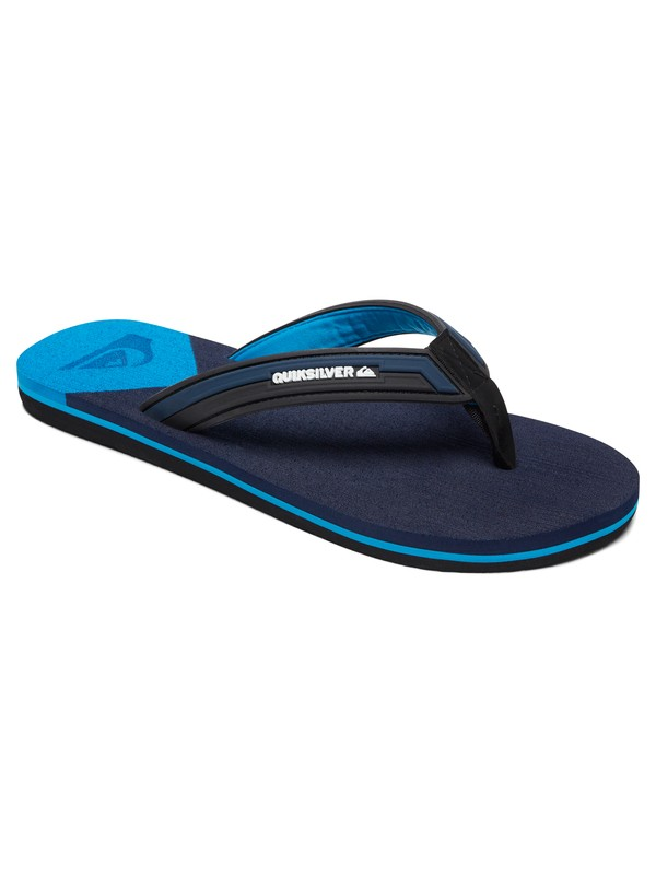 0 Molokai Deluxe - Sandals for Men Black AQYL100636 Quiksilver