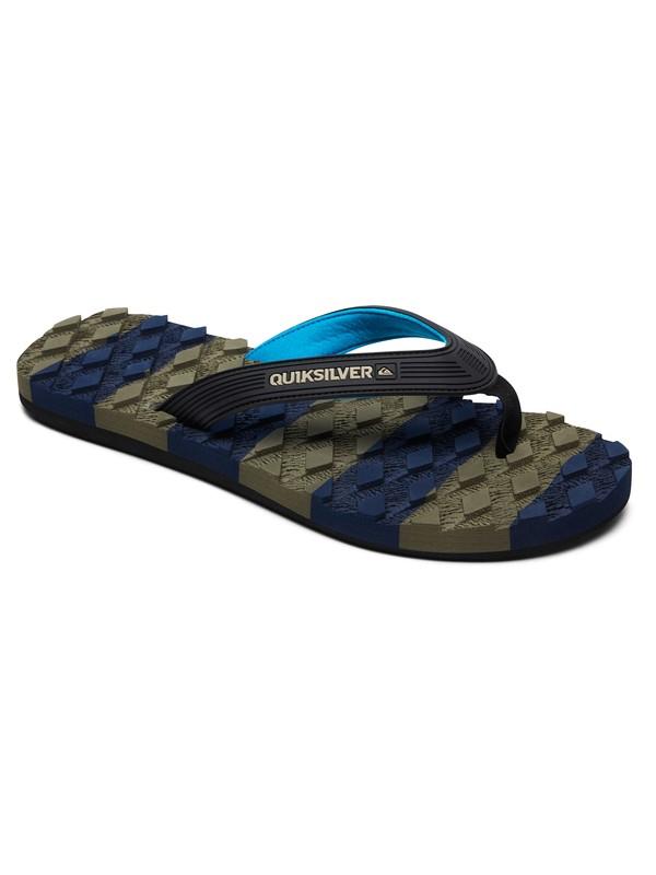 0 Massage - Sandals for Men Black AQYL100637 Quiksilver