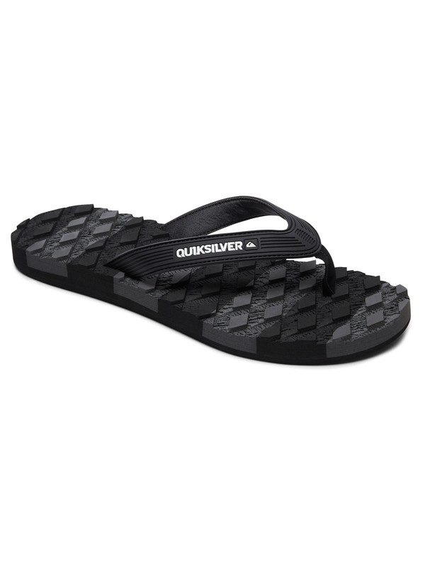 0 Massage - Sandals for Men Black AQYL100637 Quiksilver