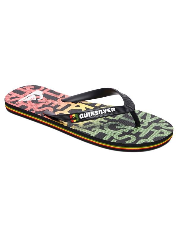 0 Molokai Random - Flip-Flops Black AQYL100659 Quiksilver