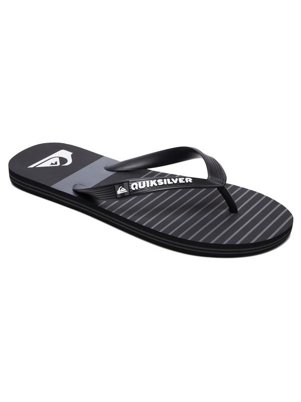 0 Molokai Tijuana Flip-Flops Black AQYL100682 Quiksilver