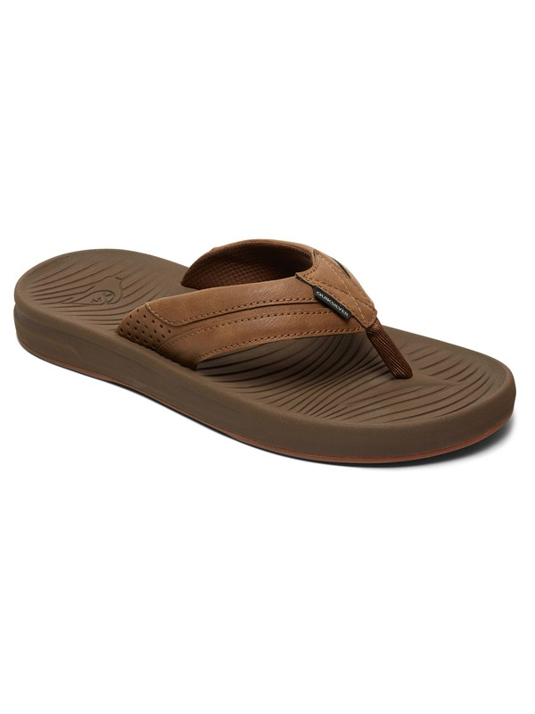 0 Travel Oasis - Sandals for Men Beige AQYL100754 Quiksilver
