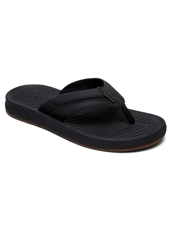 0 Travel Oasis - Sandals for Men Black AQYL100754 Quiksilver